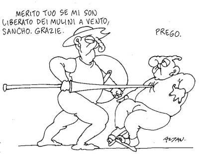 Brunetta Don Chisciotte