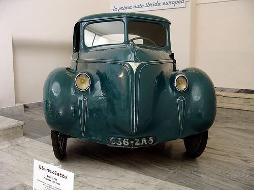 Electrolette, la prima vettura ibrida europea