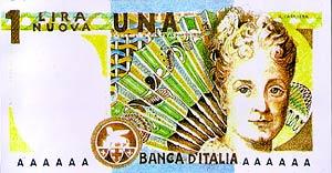 Banconota da Una Lira pesante