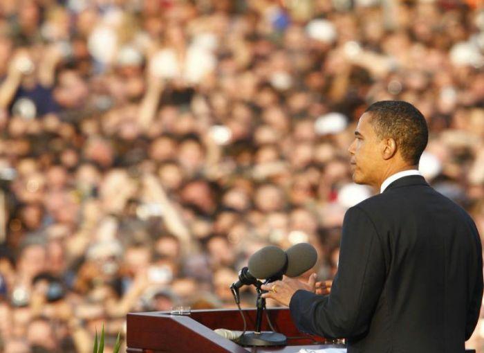 Barack Obama a Berlino Luglio 2008