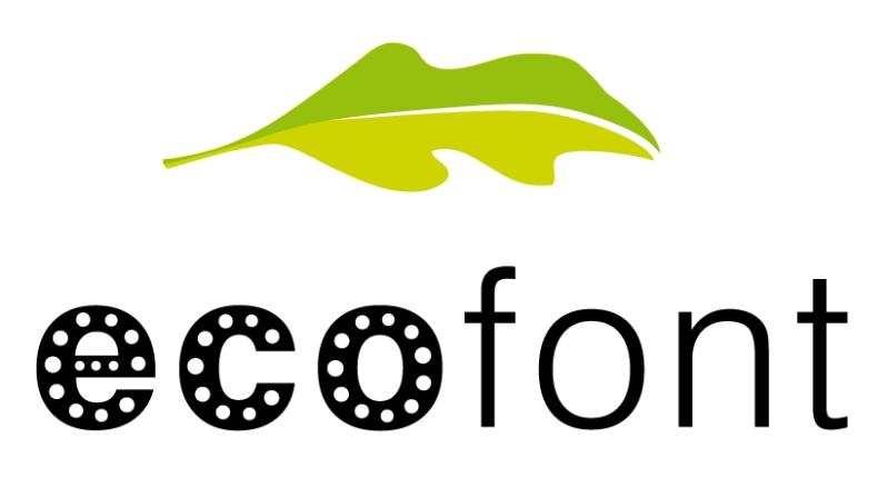 Ecofont il carattere che fa risparmiare inchiostro